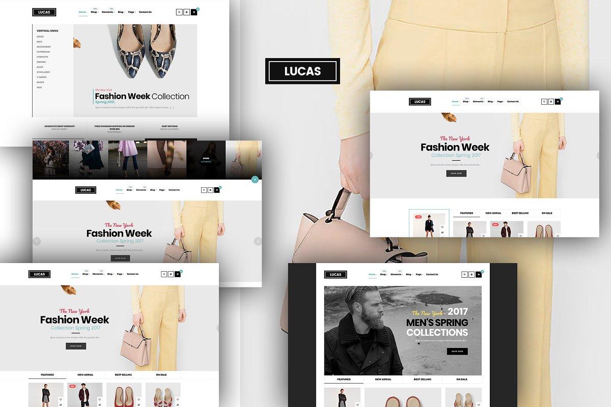 Lucas - Multipurpose Shop online