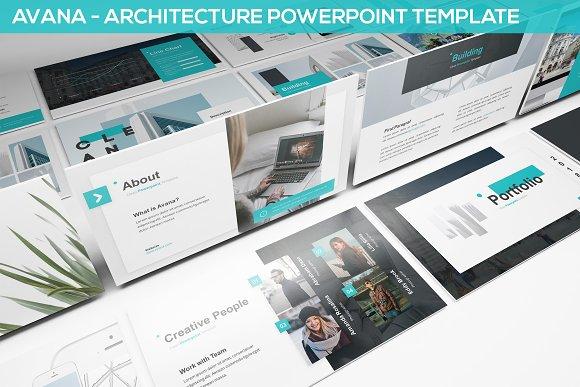 Avana Architecture Presentation Presentation Templates