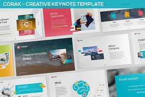Corak - Creative Keynote Template