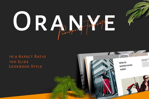 Oranye Powerpoint Template 50% Off!