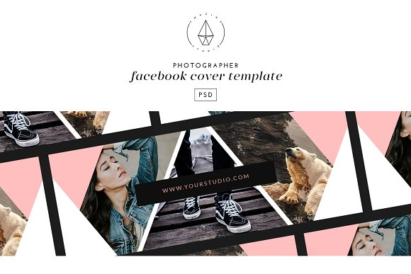 photographer facebook cover facebook templates creative market