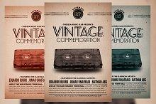 Vintage Commemoration Flyer