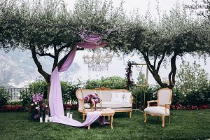 Beautiful Italy wedding decoration