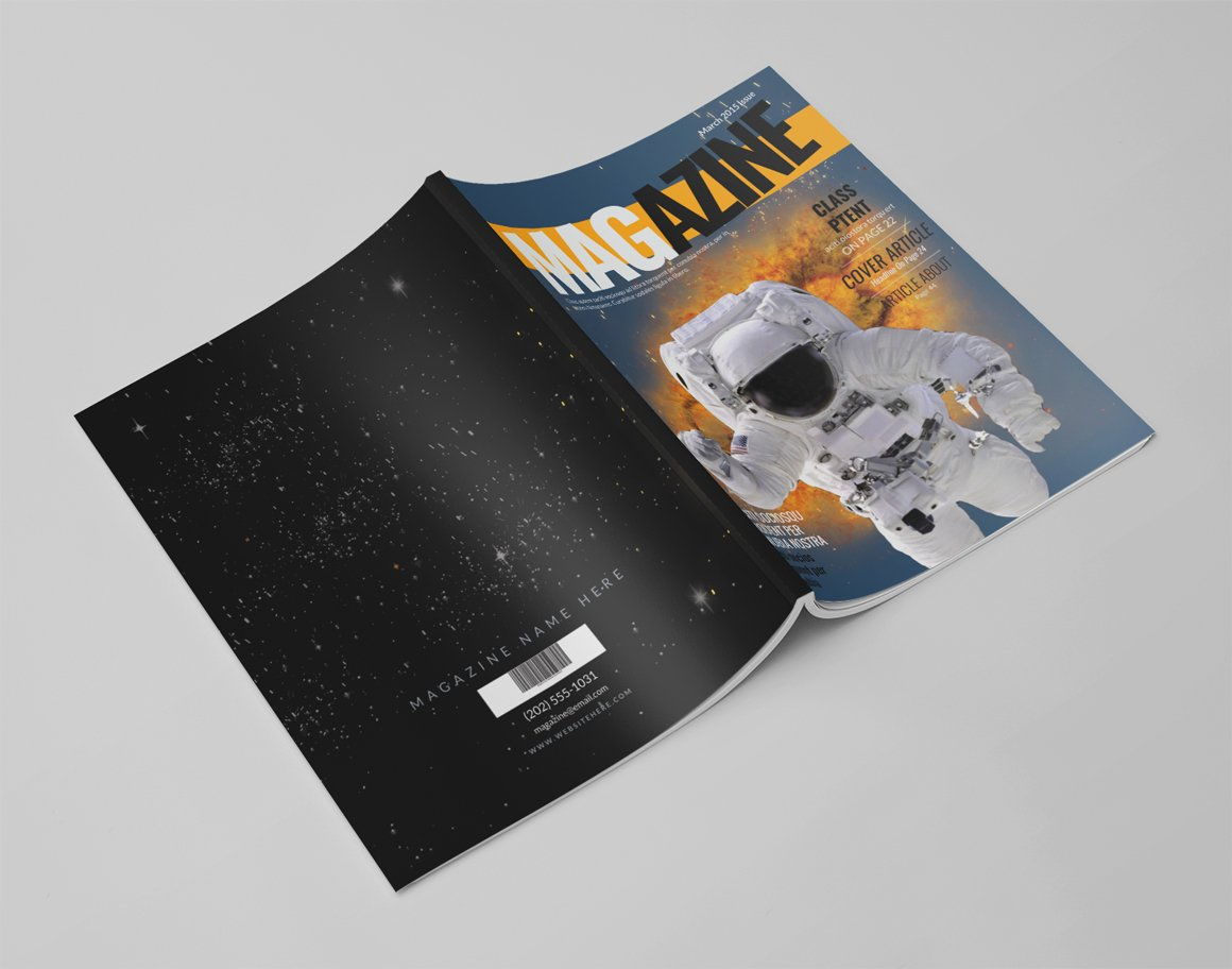 14 pages photoshop magazine template magazine templates creative