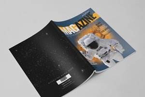 14 Pages Photoshop Magazine Template