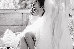 Sweet wedding morning