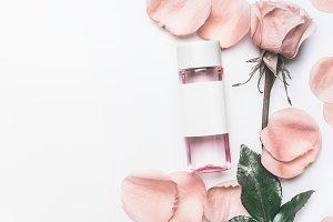 Facial roses water or toner