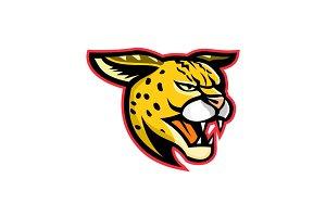 Serval Wild Cat Mascot