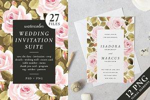 30% off! Roses – wedding set