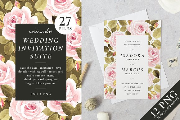 Roses Wedding Set