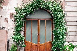 Italian elegant door