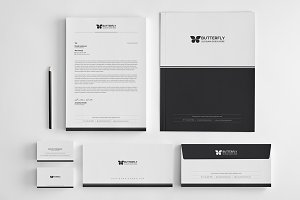 Butterfly Corporate Identity