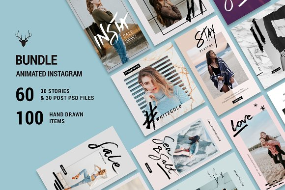 Mini BUNDLE Animated Instagram Pack