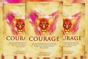 Courage Church Flyer
