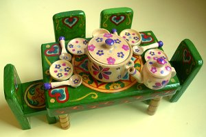 Children's wooden toy.