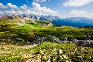 Alpine Landscape in Italy