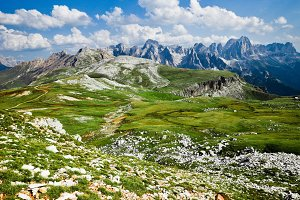 Alpine Landscape in Italy