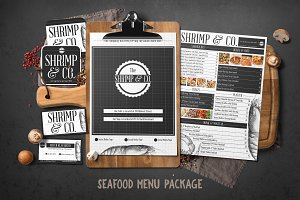 Seafood Menu Package