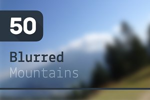 50 Blurred Mountains