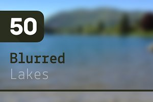50 Blurred Lakes