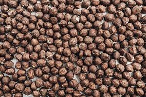 Hazelnut pattern