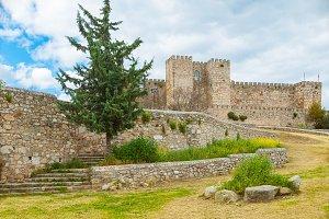 Medieval castle of Trujillo