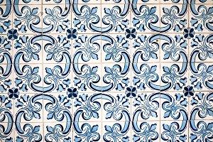Portuguese Tiles Texture
