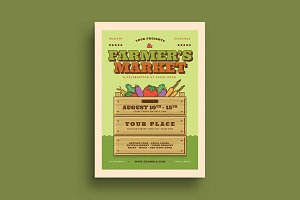 Farmer's Market Event Flyer