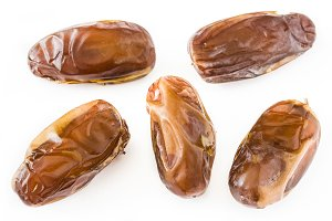 Dates isolated