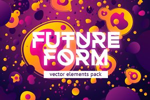Future Form. Vector elements pack.