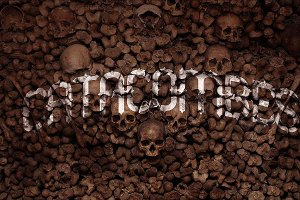 CATACOMBES font