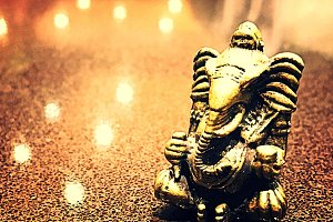 Ganesha Bokeh