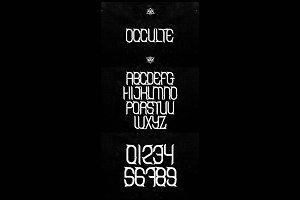 OCCVLTE font