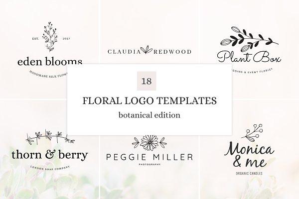 Botanical Logo Bundle