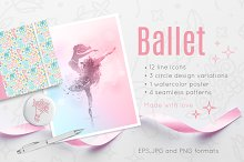 Ballet icon collection