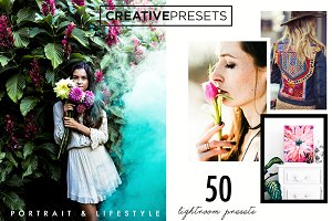Portrait-Lifestyle Lightroom Presets