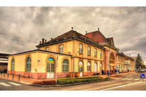Railway station of Saint Louis - Alsace, France