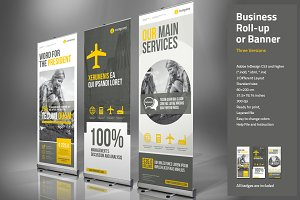 Corporate Roll-up or Banner