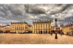 Place Stanislas, a UNESCO heritage site in Nancy, France