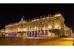 The Hotel de Ville (City Hall), also known as Palais de Stanisla