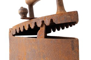 Vintage iron.