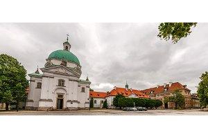 Saint Kazimierz Church in Warsaw - Poland