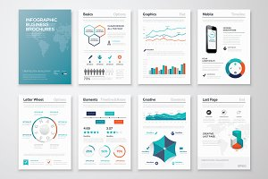 Infographic Brochure Elements 9