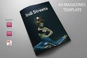 A4 Indi Streets Magazines