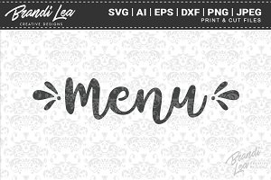 Menu Cut Files