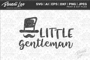 Little Gentleman Cut Files