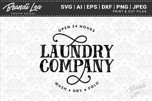 Laundry Company Cut Files