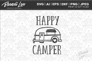 Happy Camper Cut Files