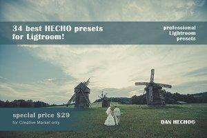34 best HECHO Presets for Lightroom