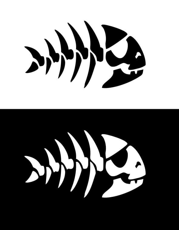Fsm Pirate Fish Skull Graphic Objects Creative Market